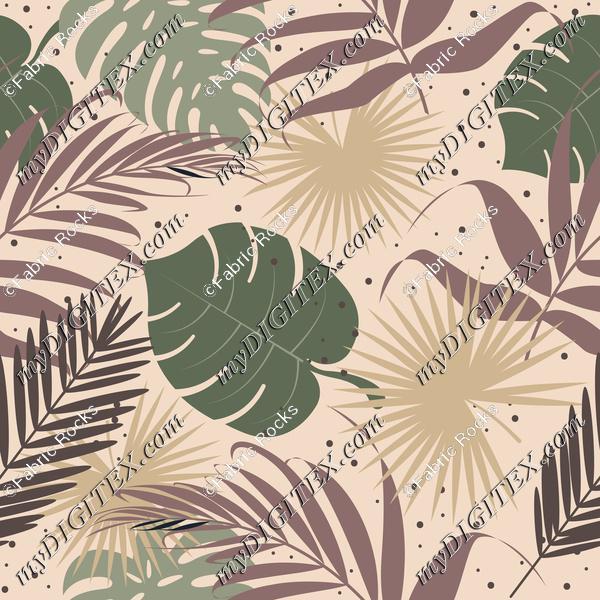 Hibiscus Camo Tropical Foliage