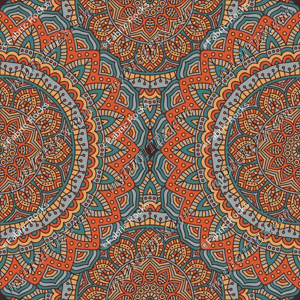Paprika Bazaar Mandala 1