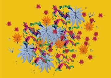 Fall Yellow Print