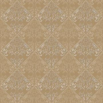 Flocked Damask