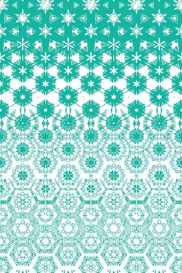 mosaic floral