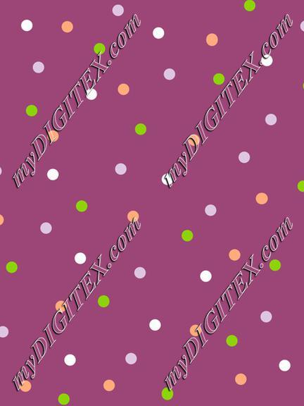 Dots in purple