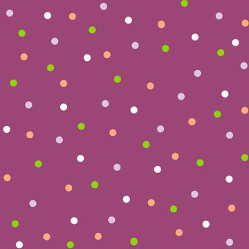 Dots in purple