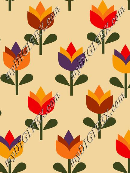 Summer Flowers, Tulips, Traditional Floras