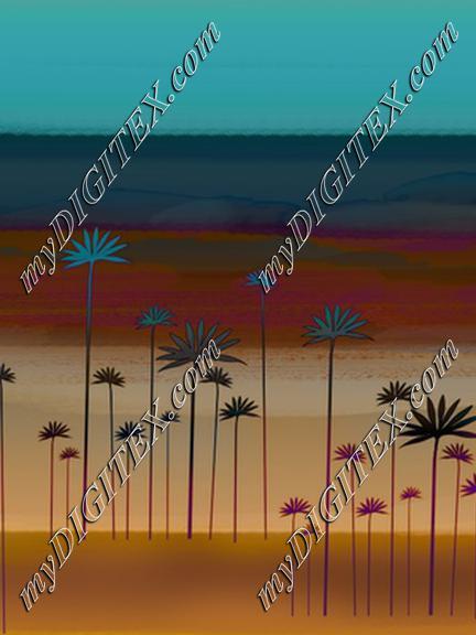 blue skies gold sand 1