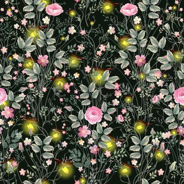Fireflies & Flowers