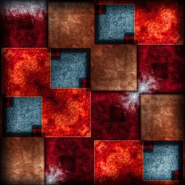Grunge squares