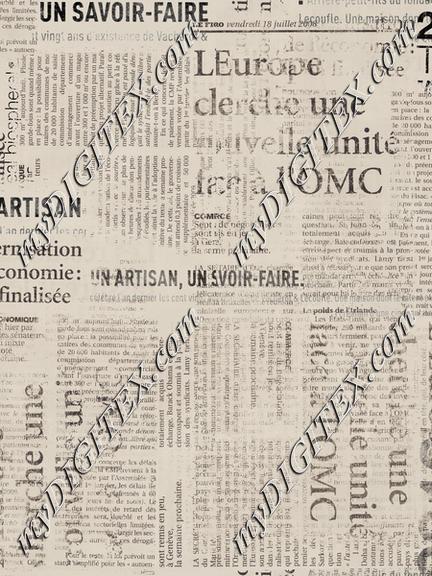 Grunge Newspaper Beige