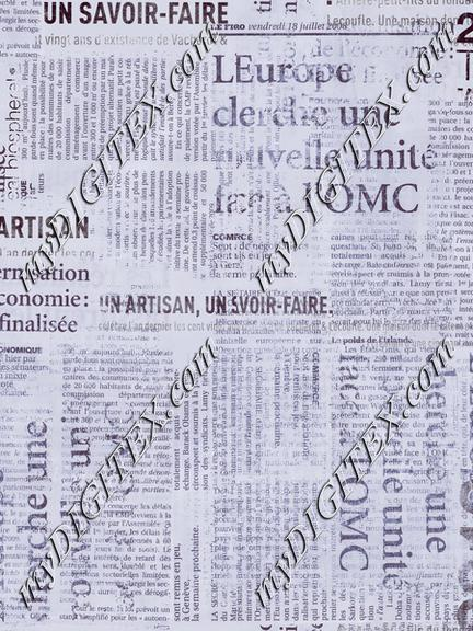 Grunge Newspaper Grey