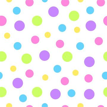 Bright colors dotted background