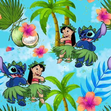 Lilo Stitch Blue
