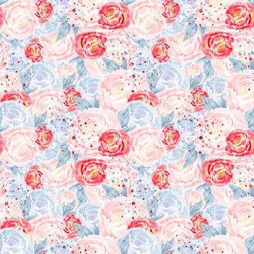 Mary Poppins Pink Floral
