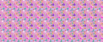 Peppa Scattered Pink