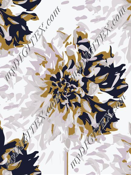 Blowing petals flower-04