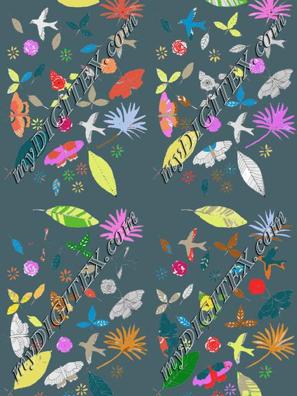 Floral Land Pattern
