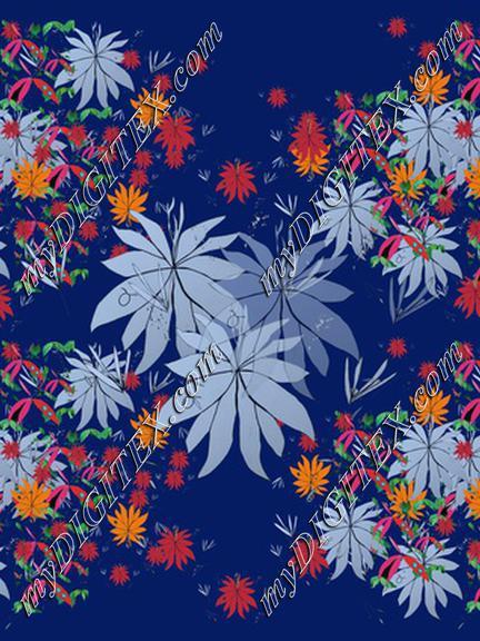 Blue Flor