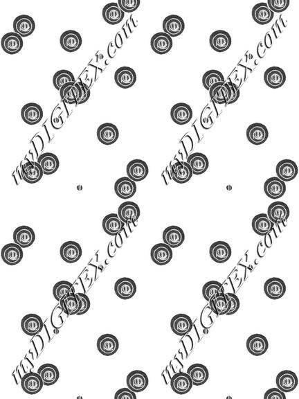 Circle Dots pattern Grey