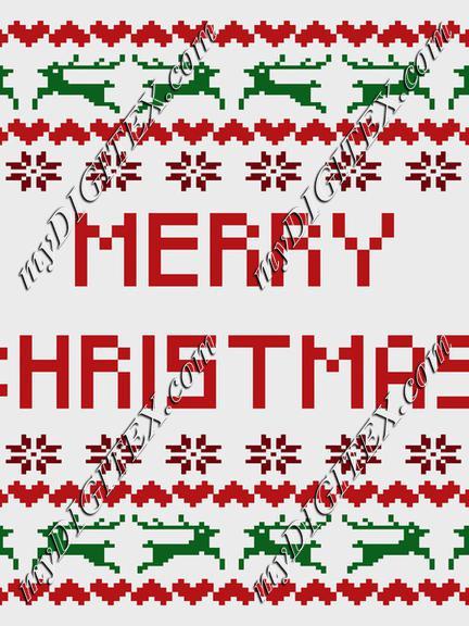 Christmas Pattern,, Merry Christmas