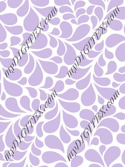 Splash violet color flourishes ornamental style