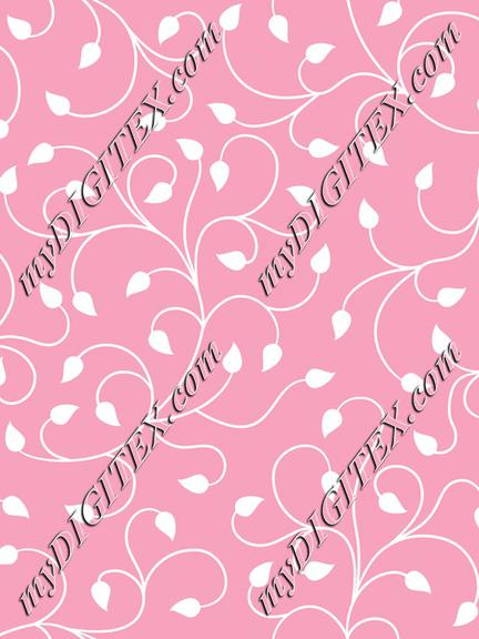 swirl leaves pattern pink_201102_HNWN