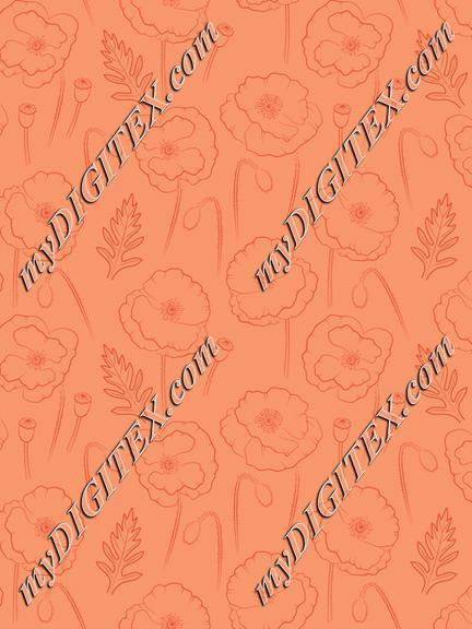 Poppy orange