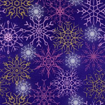 Snowflake navy