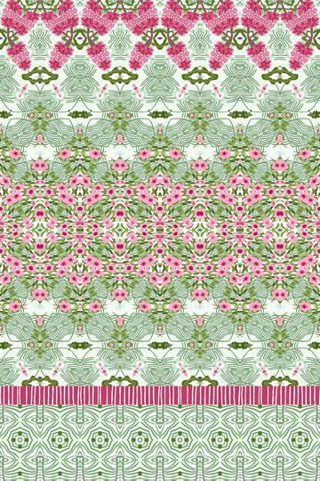 Geometric Fashion Print Floral PrettyBohemian