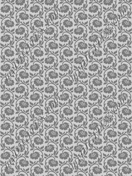 Soft Greys - Floral