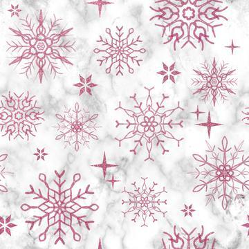 Snowflake marble pink