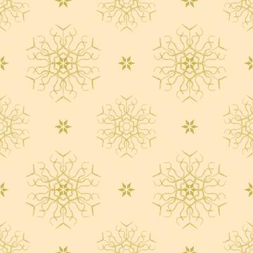 snowflake gold beigeBIG