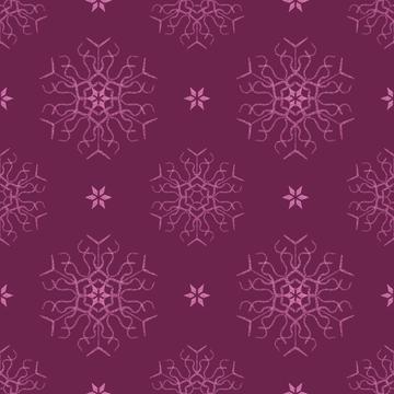 snowflake burgundy2