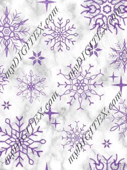 Snowflake marble