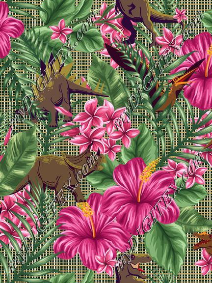 Hibiscus Dinosaurs