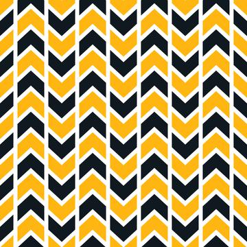 Pittsburgh Chevron Stripes