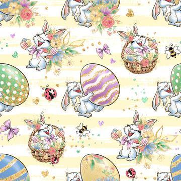 Bunny Fun Yellow