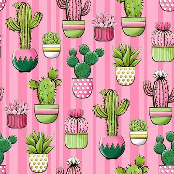 Cactus Pink 30x30cm