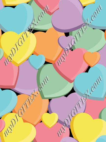 Conversation Hearts (no text)