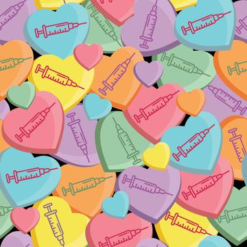 Candy Hearts - Vaccine