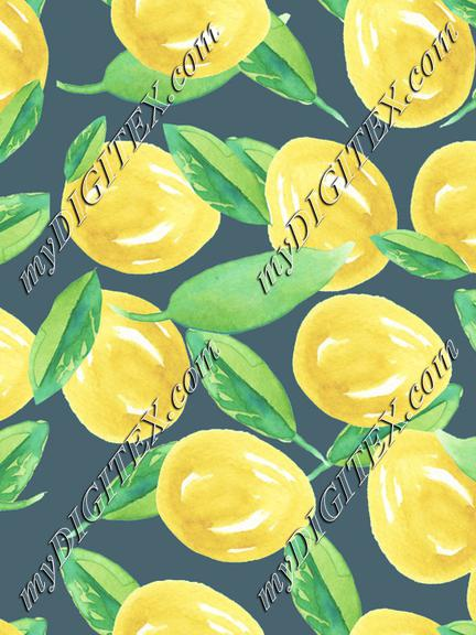 Lemons for lemonade gray