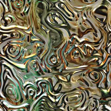 Golden 3d texture