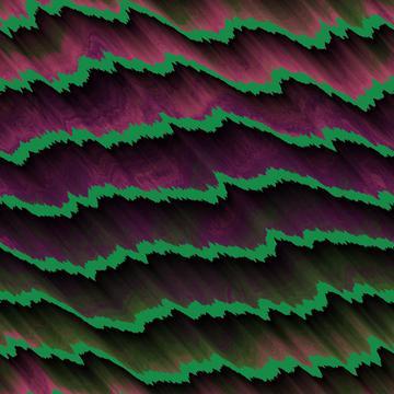 Green waves texture