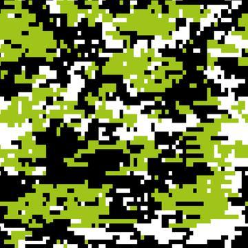 Chartreuse Digital Camo