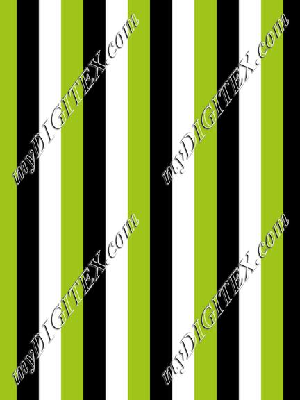 Chartreuse Vertical Stripe