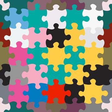 Pastel puzzles