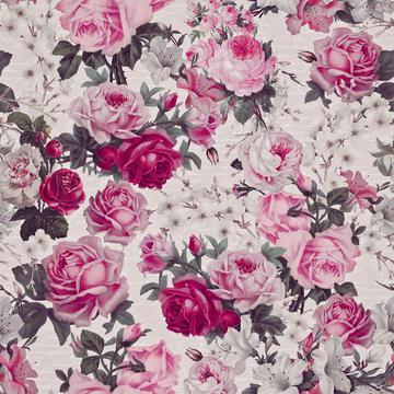 Vintage Roses Pastel Pink