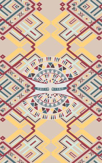African geometric texture