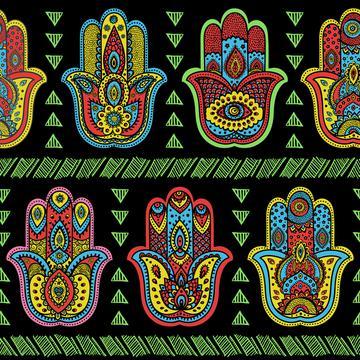 Hippie Love Hamsa