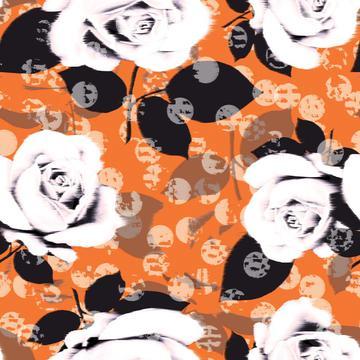 Blur floral print