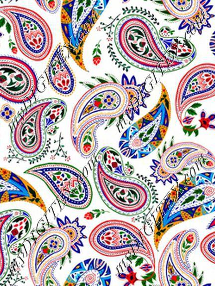 paisley coloring