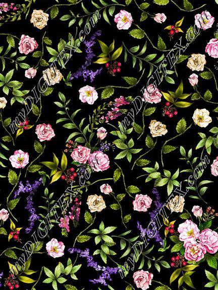 fascinating rose_black